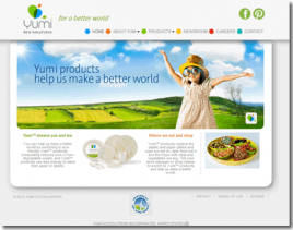 Yumi Eco Solutions Website