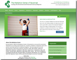 Mediation Savannah Website