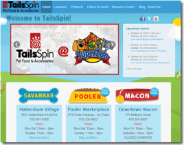 TailsSpin Website